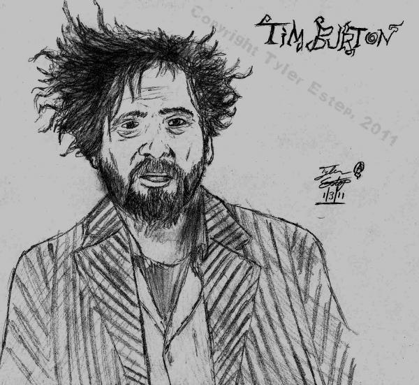 Tim Burton by PsychotropicTyler